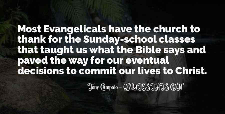 Sunday School Bible Quotes #997466