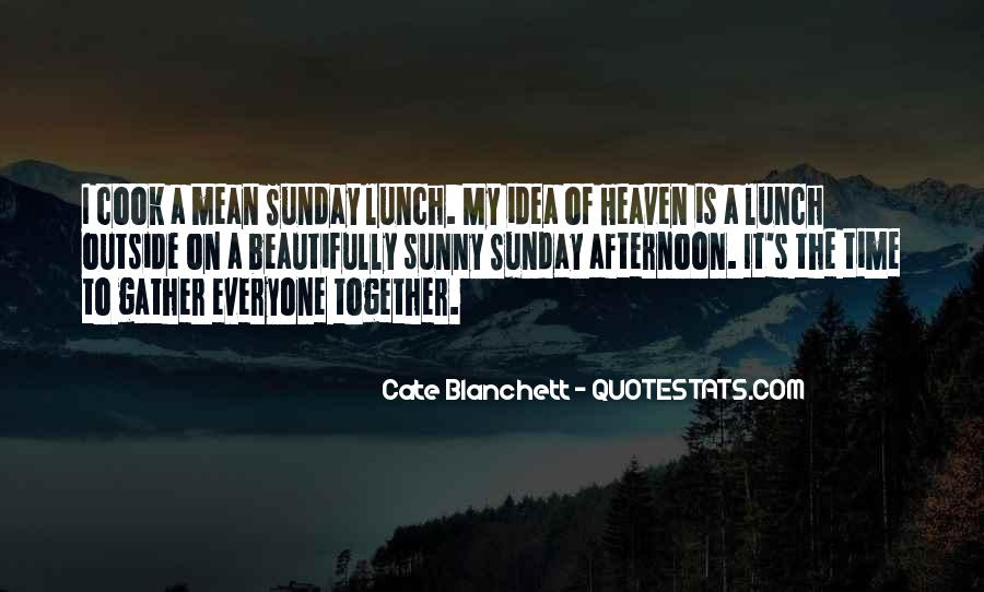 Sunday Sunny Day Quotes #975949