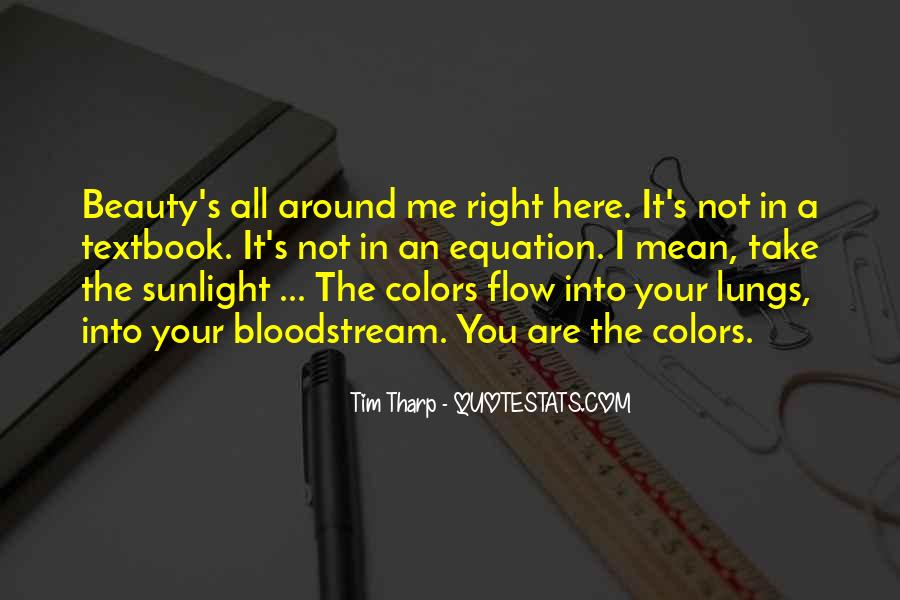 Sunlight Here I Am Quotes #117809