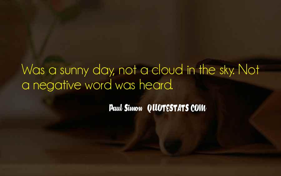 Sunny Day Inspirational Quotes #1787763