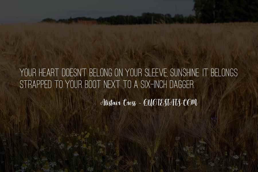 Sunshine In Your Heart Quotes #241925