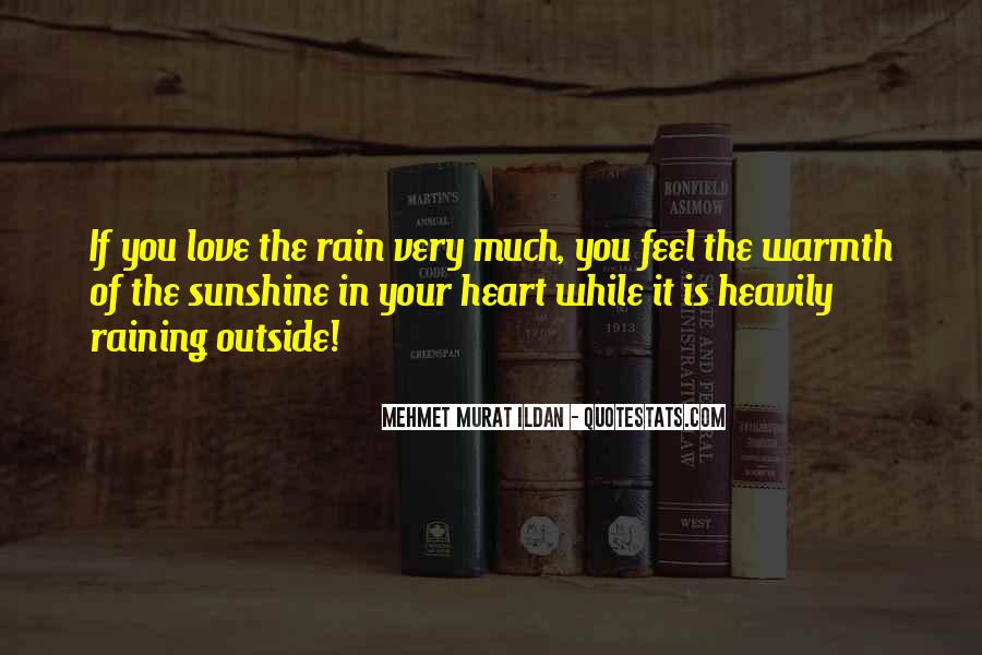 Sunshine In Your Heart Quotes #268402