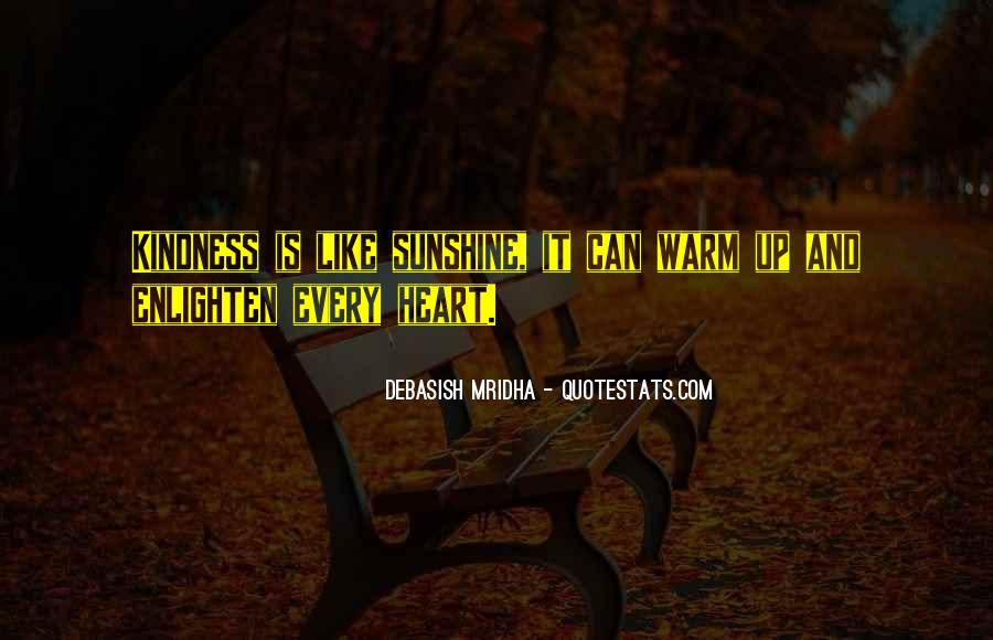Sunshine In Your Heart Quotes #420956