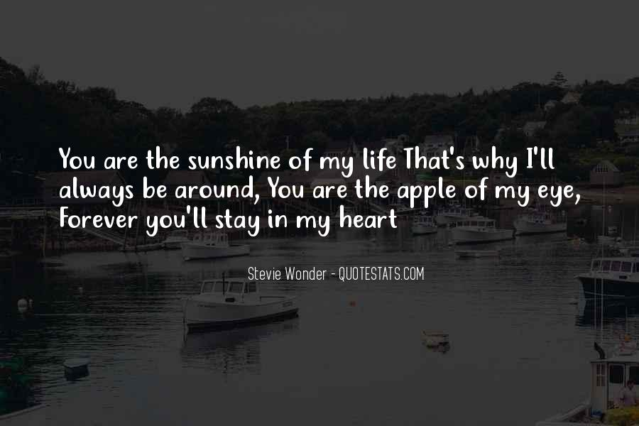 Sunshine In Your Heart Quotes #590043