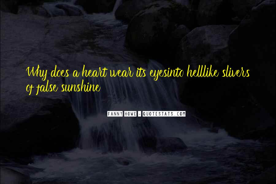 Sunshine In Your Heart Quotes #724700