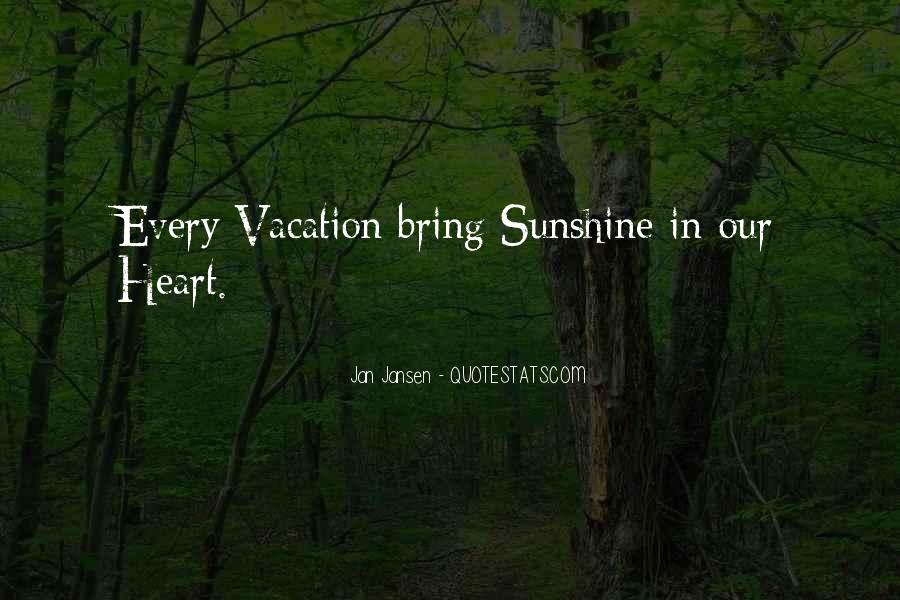 Sunshine In Your Heart Quotes #793919
