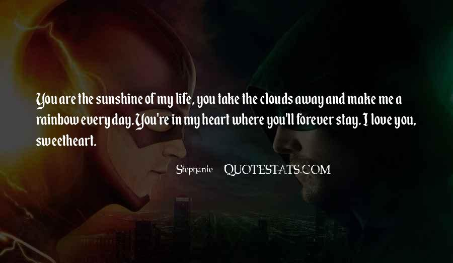 Sunshine In Your Heart Quotes #83351