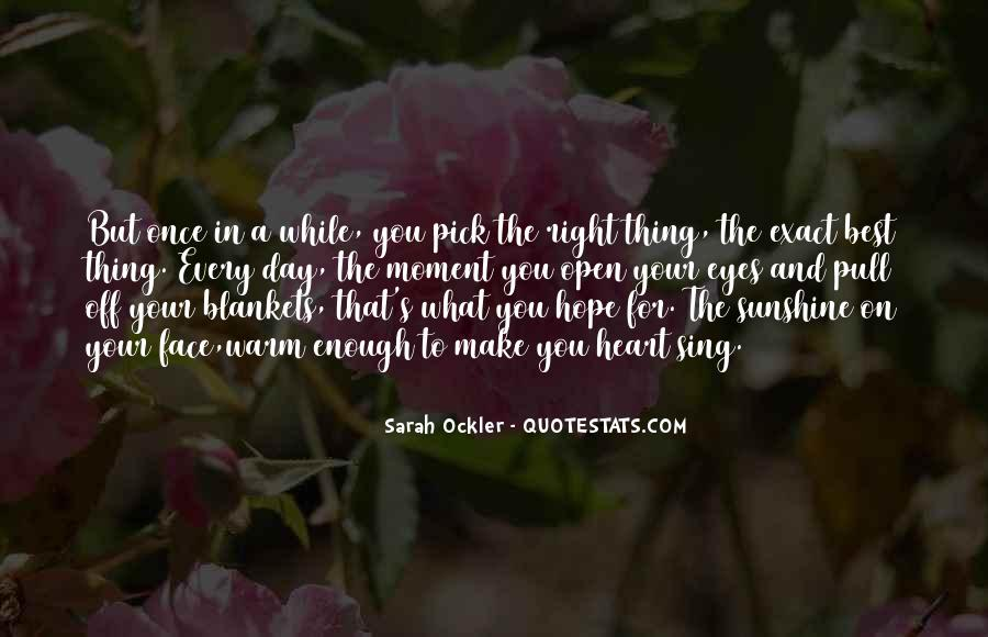 Sunshine In Your Heart Quotes #876887