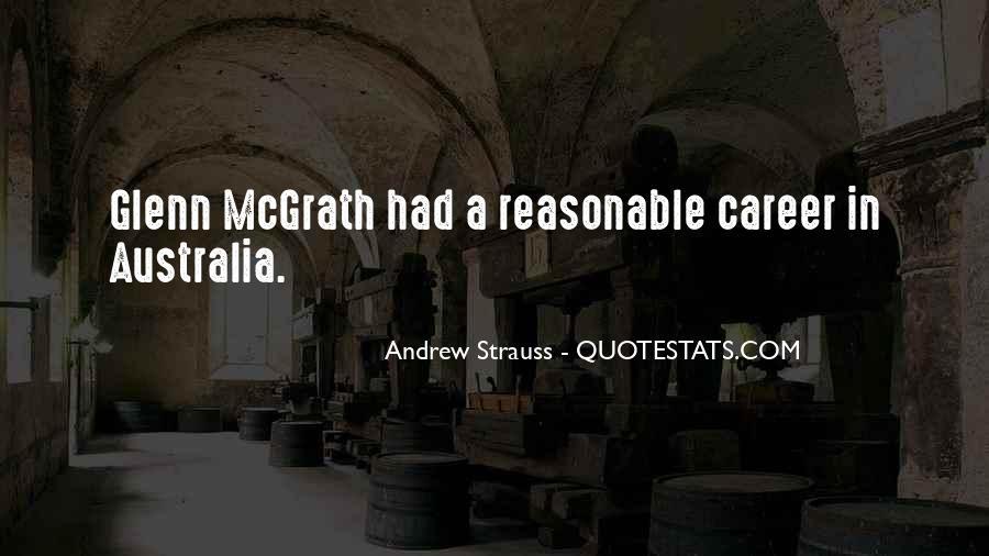 Quotes About Glenn Mcgrath #1137365