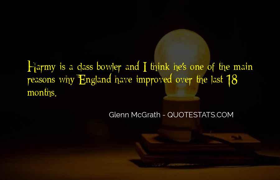 Quotes About Glenn Mcgrath #500272