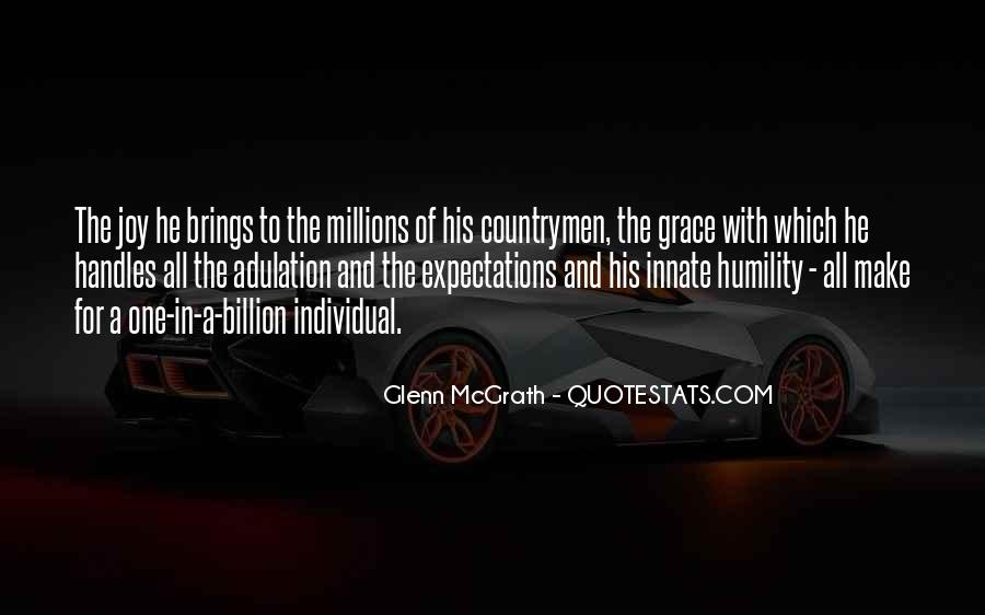 Quotes About Glenn Mcgrath #569717