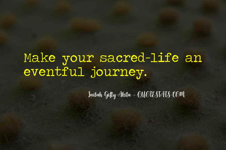 Quotes About Journey #14755