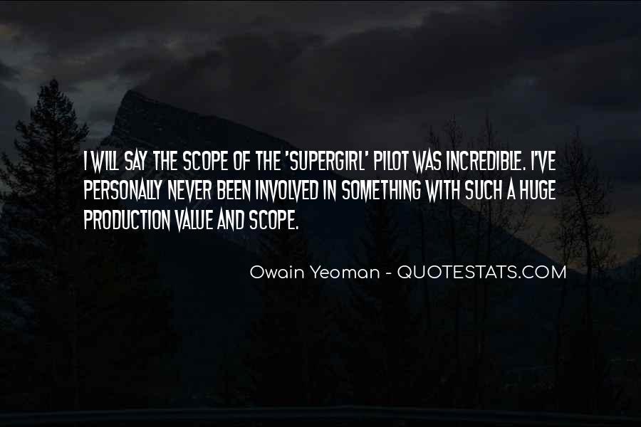 Supergirl Pilot Quotes #810719