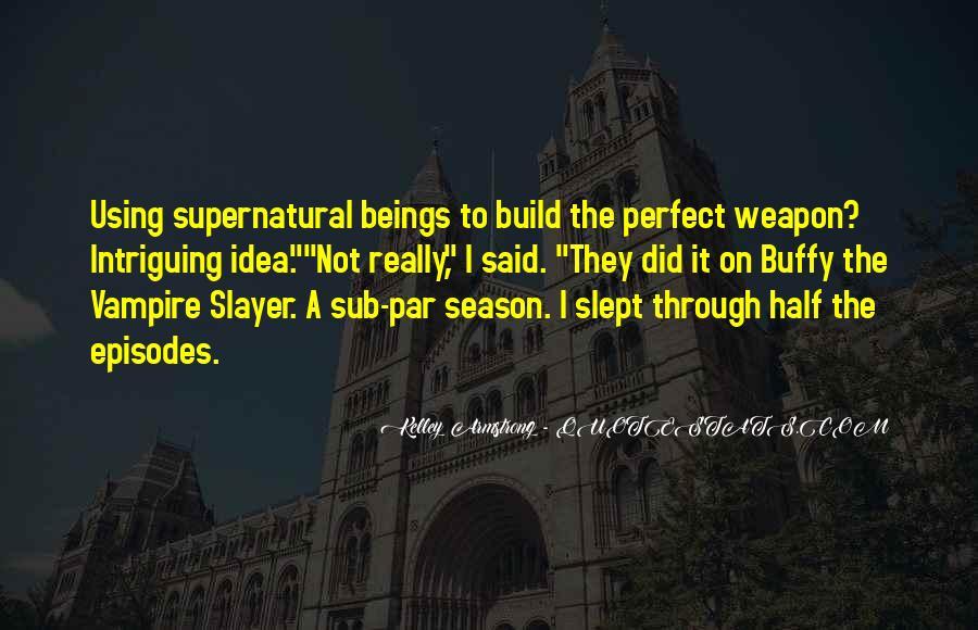 Supernatural Season 4 Quotes #1546162