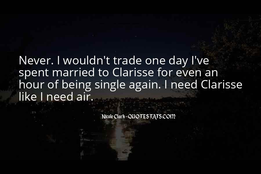 Quotes About Being In Love And Single #1386446