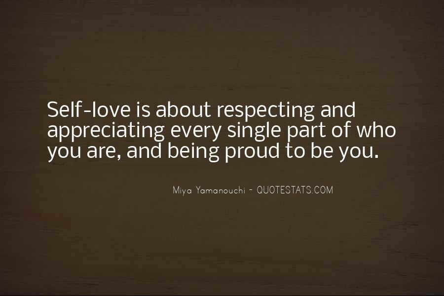 Quotes About Being In Love And Single #443666