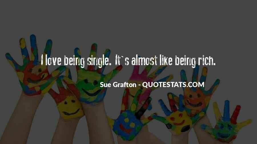 Quotes About Being In Love And Single #604806