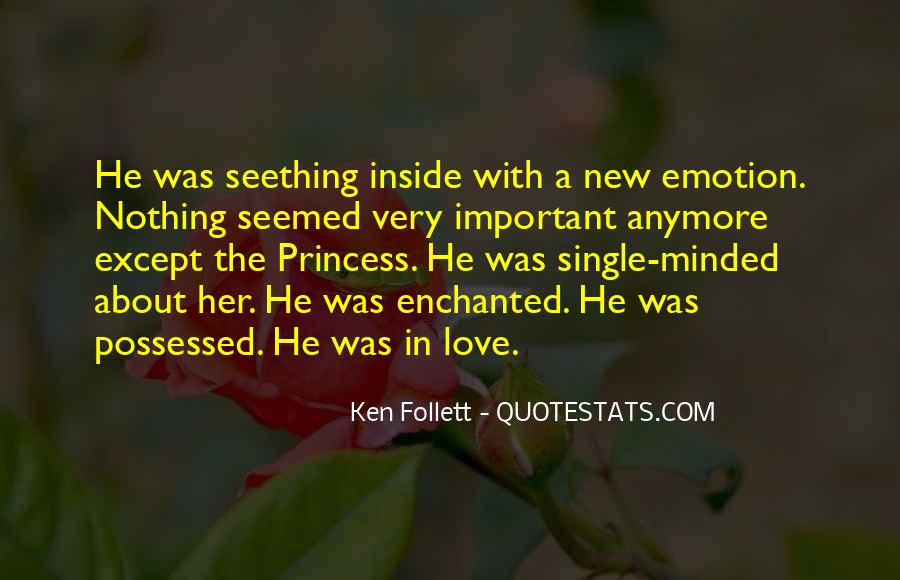 Quotes About Being In Love And Single #699165