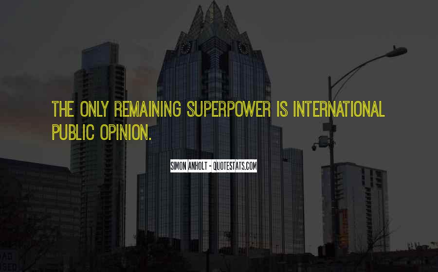 Superpower Quotes #274172