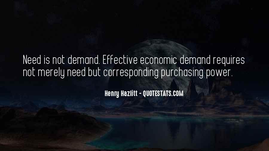 Supply And Demand Economics Quotes #441004
