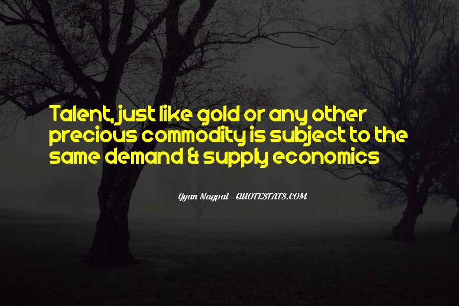 Supply And Demand Economics Quotes #89343