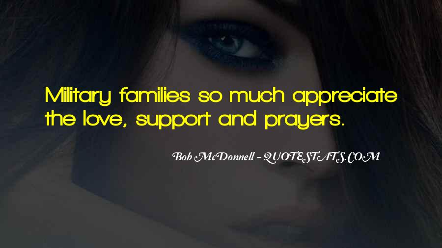 Support Military Families Quotes #967505