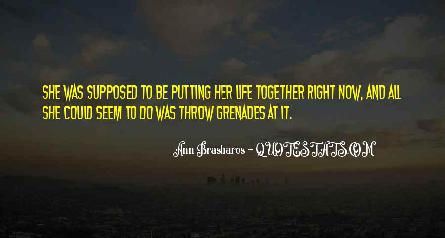 Supposed To Be Together Quotes #1141030
