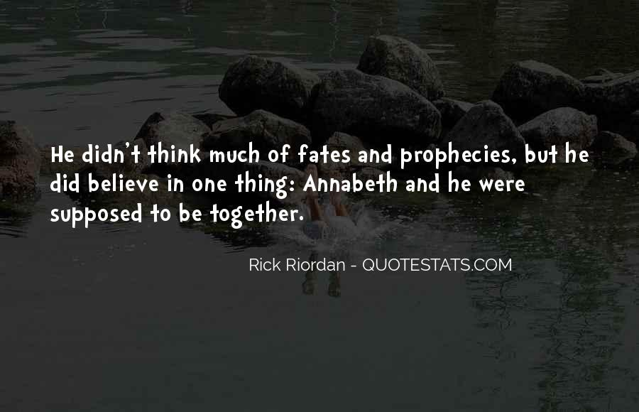 Supposed To Be Together Quotes #135153