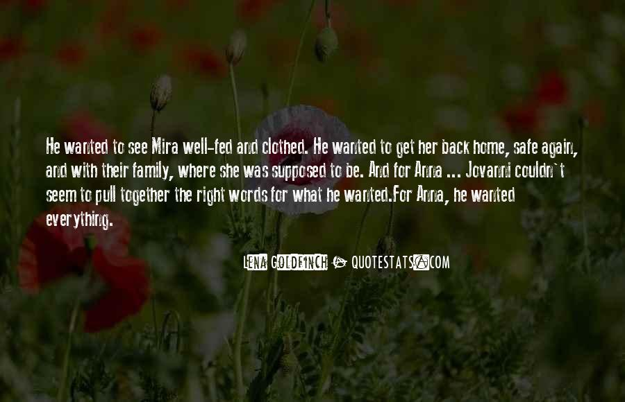 Supposed To Be Together Quotes #1617505