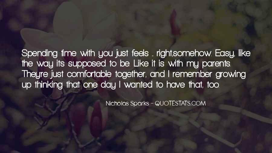 Supposed To Be Together Quotes #1623637