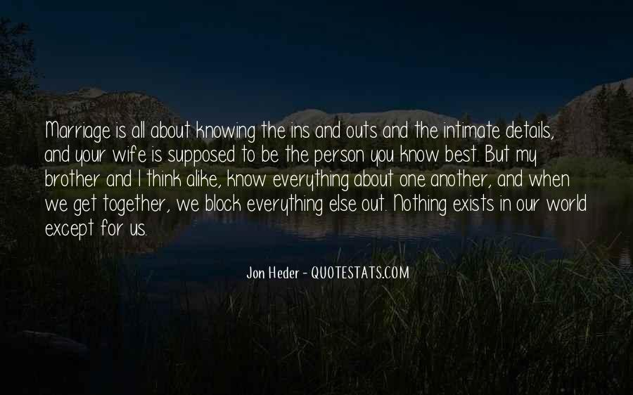 Supposed To Be Together Quotes #32053