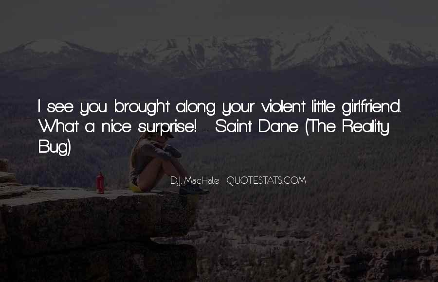 Surprise For Girlfriend Quotes #452558