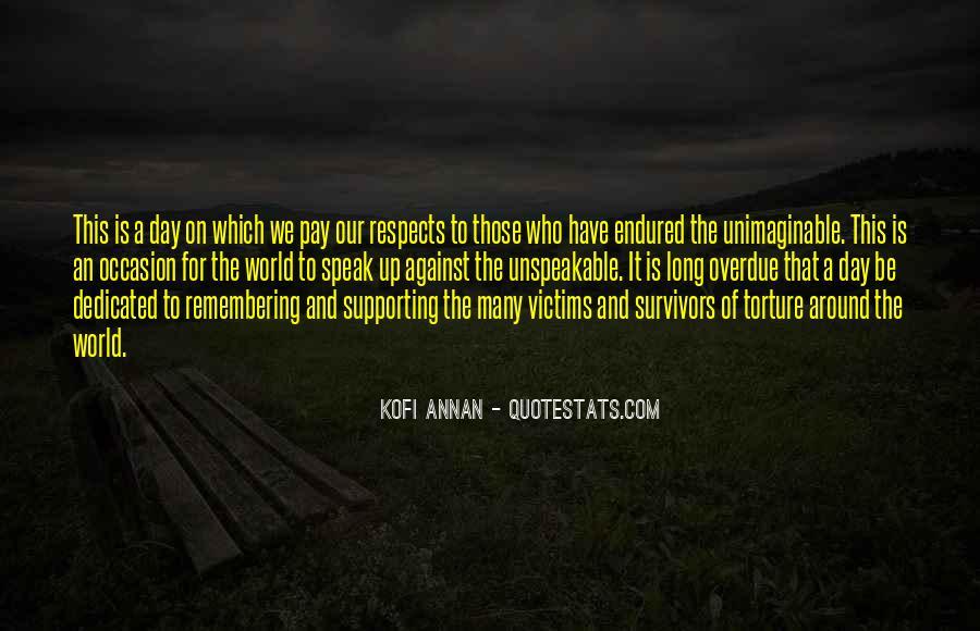 Survivor One World Quotes #1386302