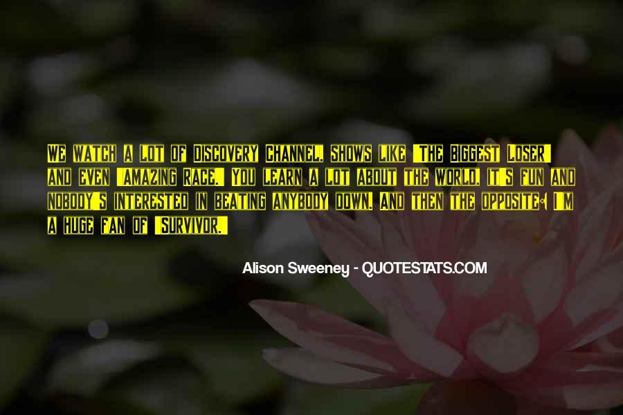 Survivor One World Quotes #162840