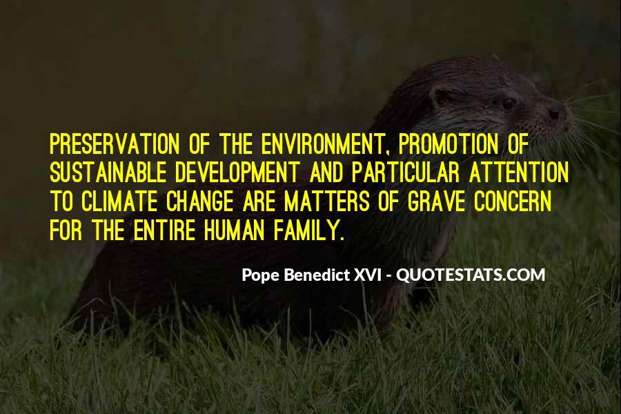 Sustainable Human Development Quotes #836007