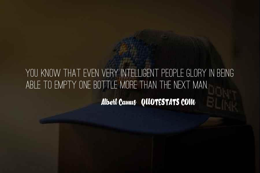 Quotes About Being Intelligent #215422