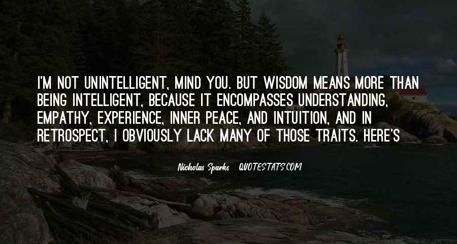 Quotes About Being Intelligent #69718