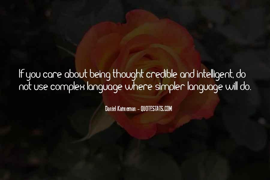 Quotes About Being Intelligent #998016