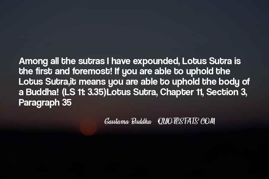 Sutras Quotes #199978