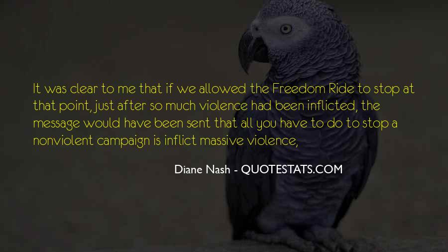 Quotes About Diane Nash #317439