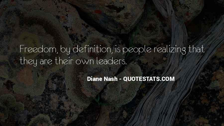 Quotes About Diane Nash #464052