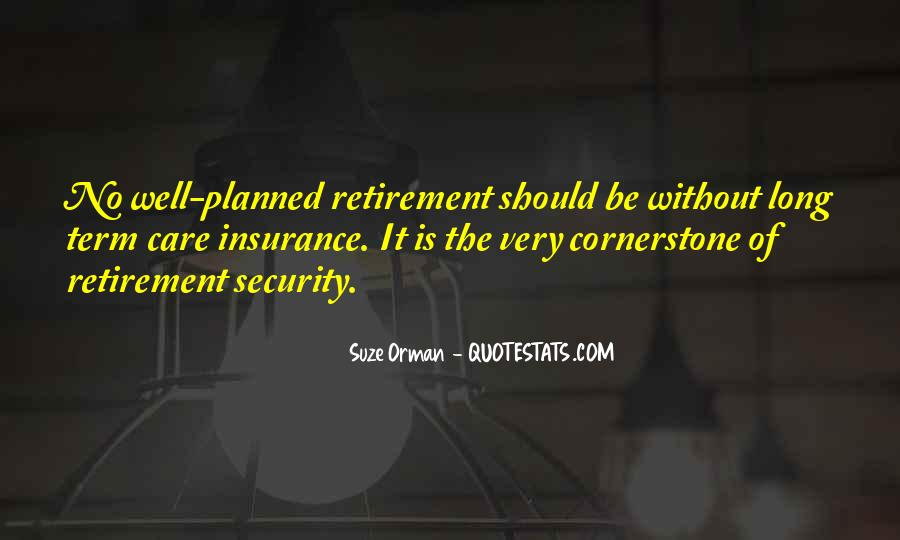 Suze Orman Insurance Quotes #421420