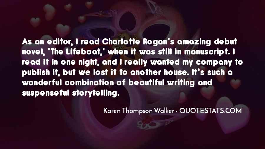 Quotes About Karen Walker #754281