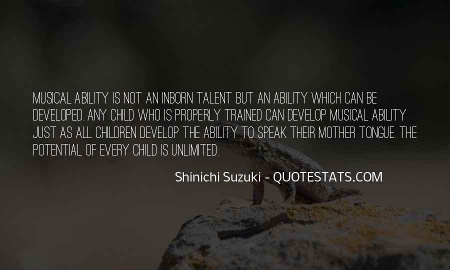 Suzuki Shinichi Quotes #1266140