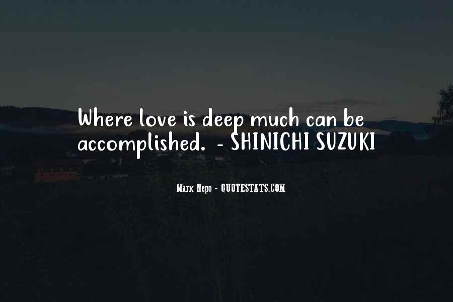 Suzuki Shinichi Quotes #1491668