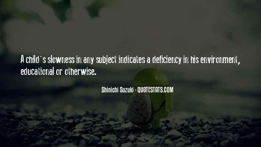 Suzuki Shinichi Quotes #829796