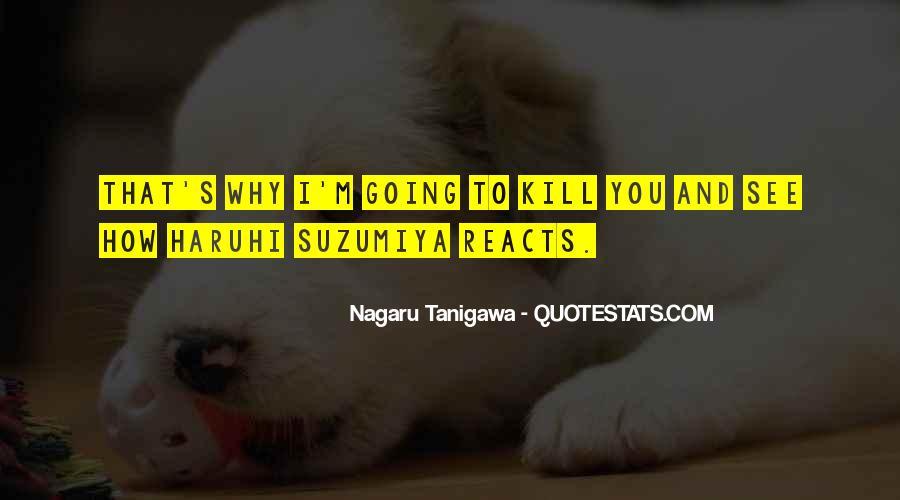 Suzumiya Quotes #1513033