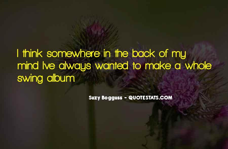 Suzy Quotes #31737