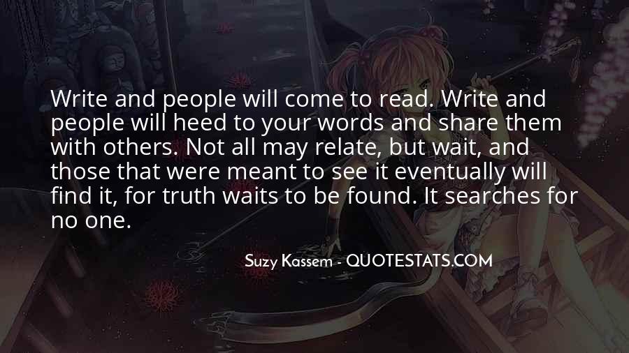 Suzy Quotes #379296