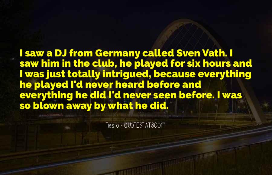 Sven Vath Quotes #1015615